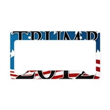 Trump 2012 Sign License Plate Holder