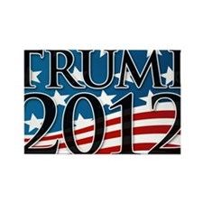 Trump 2012 Sign Rectangle Magnet