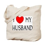 I LOVE MY HUSBAND Tote Bag
