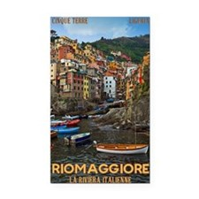 Cinque Terre - Riomaggiore Rectangle Car Magnet