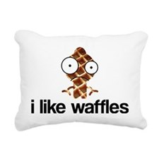 ilikewaffles Rectangular Canvas Pillow