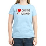 I LOVE OBEYING MY HUSBAND T-Shirt