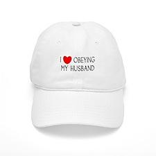 I LOVE OBEYING MY HUSBAND Baseball Cap