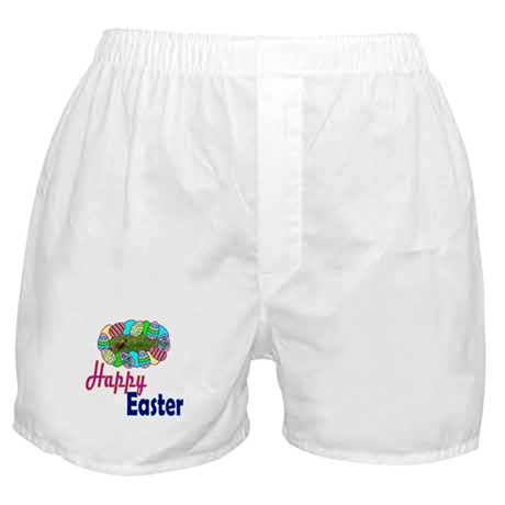 Happy Easter Bunny Boxer Shorts