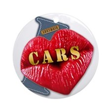 CARS---I-LOVE Round Ornament
