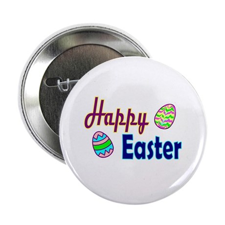 "Happy Easter Eggs 2.25"" Button (10 pack)"