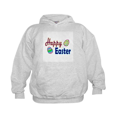 Happy Easter Eggs Kids Hoodie