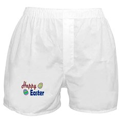 Happy Easter Eggs Boxer Shorts