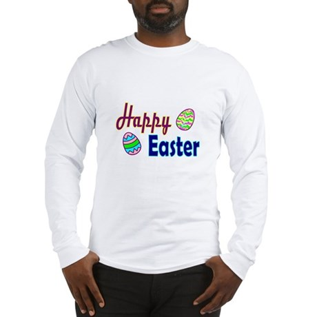 Happy Easter Eggs Long Sleeve T-Shirt