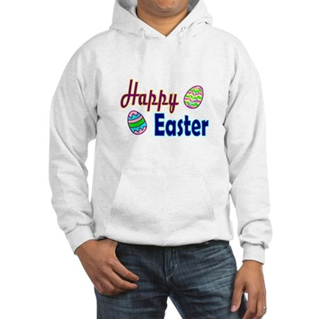 Happy Easter Eggs Hooded Sweatshirt
