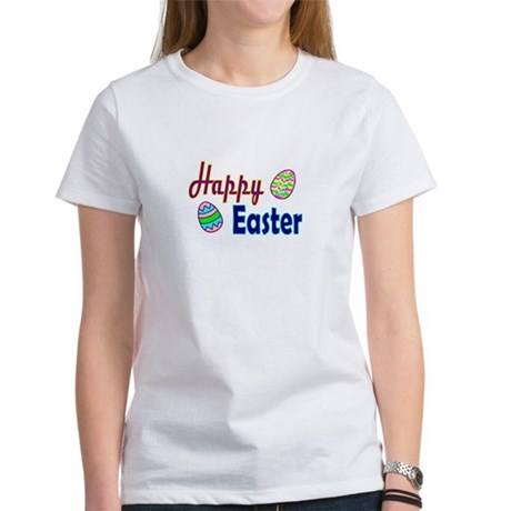 Happy Easter Eggs Women's T-Shirt