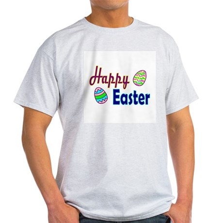 Happy Easter Eggs Ash Grey T-Shirt