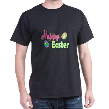Happy Easter Eggs Dark T-Shirt