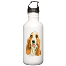 Basset Hound 3 Water Bottle
