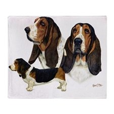 Basset Multi Throw Blanket