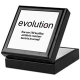 Evolution - bacteria Keepsake Box