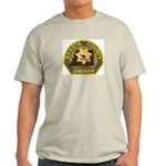 Shasta County Sheriff Ash Grey T-Shirt