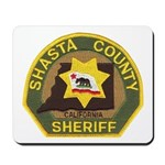 Shasta County Sheriff Mousepad
