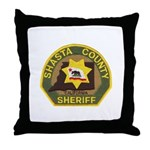Shasta County Sheriff Throw Pillow