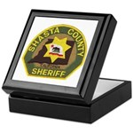 Shasta County Sheriff Keepsake Box