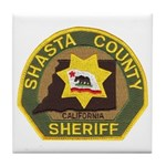 Shasta County Sheriff Tile Coaster