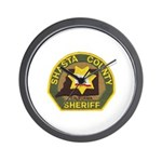 Shasta County Sheriff Wall Clock
