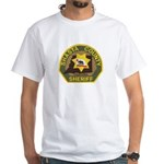 Shasta County Sheriff White T-Shirt