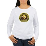 Shasta County Sheriff Women's Long Sleeve T-Shirt