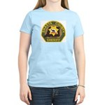 Shasta County Sheriff Women's Pink T-Shirt