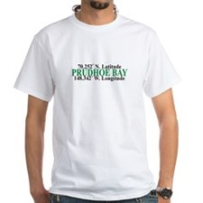 Prudhoe Bay Lat-Long Shirt