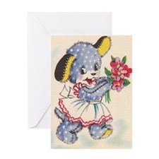 bluepuppy Greeting Card