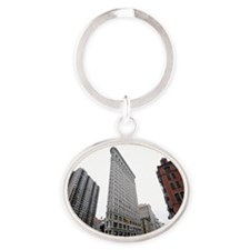 NYC  Oval Keychain