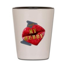 MYHUBBY---I-LOVE Shot Glass