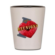 REUNIONS---I-LOVE Shot Glass