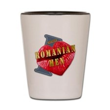 ROMANIANMEN---I-LOVE Shot Glass