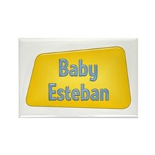Baby Esteban Rectangle Magnet (100 pack)