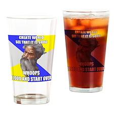 trollgodfloodAA Drinking Glass