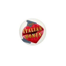 ITALIANWOMEN---I-LOVE Mini Button