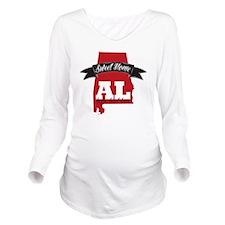 Sweet Home Long Sleeve Maternity T-Shirt