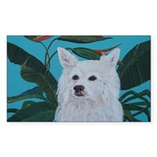 American Eskimo 5x7 Decal