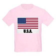 United States Flag Kids T-Shirt