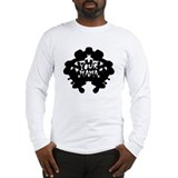 Subliminal Inkblot Long Sleeve T-Shirt