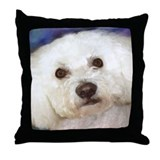 Unique Bichons Throw Pillow
