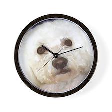 Unique Bichon frise Wall Clock