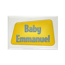 Baby Emmanuel Rectangle Magnet (100 pack)
