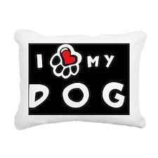dogheart3 Rectangular Canvas Pillow