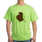 Red Flight Cap Green T-Shirt