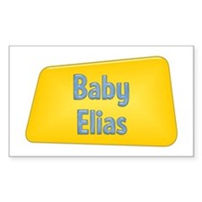 Baby Elias Rectangle Decal