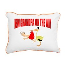 Grandpa to be Rectangular Canvas Pillow
