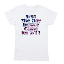 501 day justice for 911 Girl's Tee